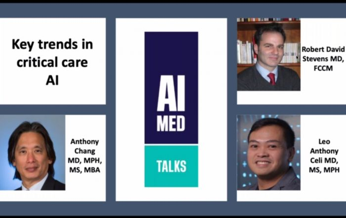 AIMed virtual event AIMed ICU intensive care unit critical care artificial intelligence AI machine learning ML deep learning physician clinician patient pandemic COVID-19 novel coronavirus webinar key trends science technology algorithm models prediction mortality Harvard Medical School Johns Hopkin University unsupervised learning techniques