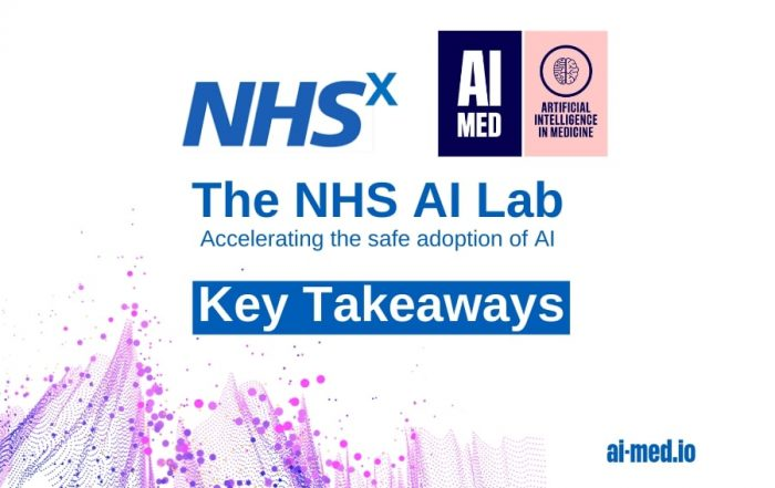 artificial intelligence AI machine learning ML data algorithm model system physician clinician patient research study AIMed NHSx National Health Service UK NHSx digital unit innovation COVID-19 pandemice science technology innovation tool healthcare social care